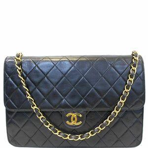 CHANEL Matelasse 25 Lambskin Leather Shoulder Bag